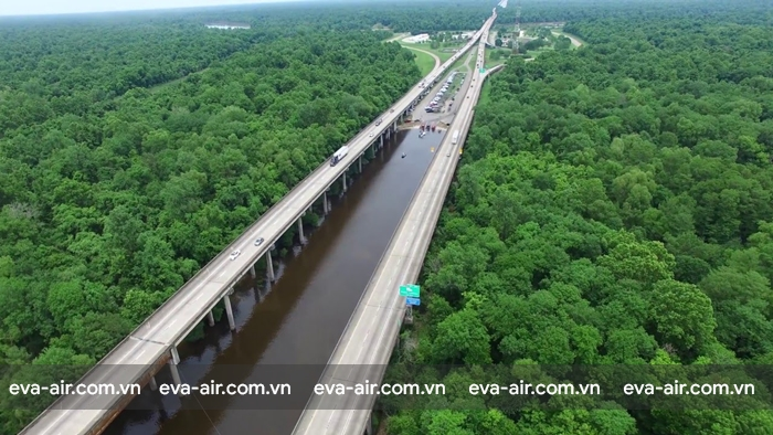 Cầu Atchafalaya Basin Bridge